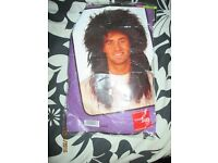 MENS MULLET / ROCKER FANCY DRESS WIG GREAT FOR A PARTY OR STAG DO