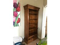 Large Pine Bookcase, Superb Quality