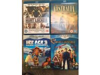 Blue Ray DVDs