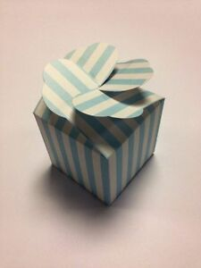 LARGE-cup-cake-muffin-boxes-wedding-favour-heart-lid-pack-x10-sweet-box-blue