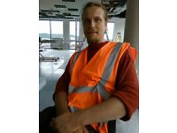CSCS labourer - looking for job - around £9-12per hour
