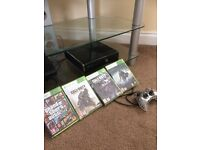 Xbox 360, wired controller + 30 Games