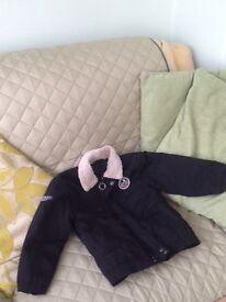Children's black coat age 5-6