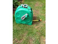 Hozelock garden hose in case 25m