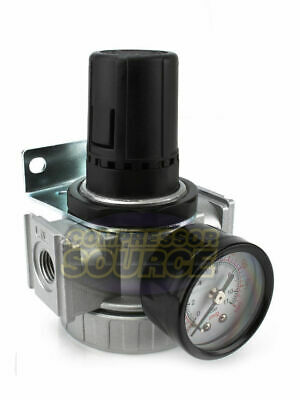 14 Compressor Inline Compressed Air Industrial Regulator Heavy Duty Large Body