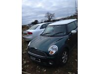 2010 MINI ONE 1.6P ALL PARTS AVAILABLE