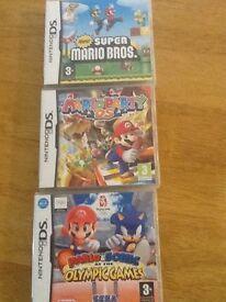 3 Mario Games