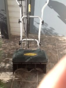 Yard works electric snowthrower