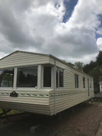 Affordable Willerby Salisbury 35 x 12, two bedroom Caravan on small holiday park with fishing.
