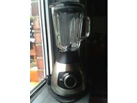 Stainless Stell Blender with Glass Jug