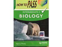 Intermediate 2 biology revision book