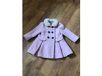 Gorgeous girls pink Next coat. 1.5-2 years (18-24 months)