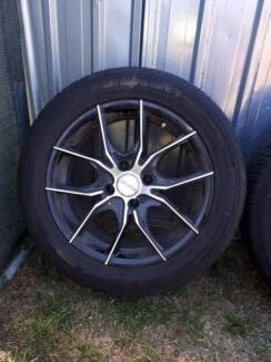 Ford Laser Mag Wheels and Tyres