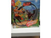 Ring Fit Adventure Nintendo Switch Game Brand New Sealed
