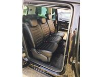 MINICAB/PRIVATE HIRE CAR LEATHER SEATCOVERS VOLKSWAGEN SHARAN