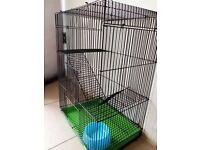 Indoor large cage for chipmunk degus ferret chinchilla rat