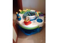 leap frog activity center baby sits in it lights and sounds