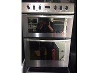 BELLING STAINLESS STEEL FREE STANDING 60cm ELECTRIC COOKER, NEW MODEL 4 MONTHS WARRANTY