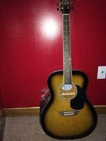 MINT CONDITION NEVER USED GOERGE WASHBURN LIMITED GUITAR