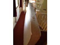 IKEA Sprung mattress HAMARVIK firm/dark beige
