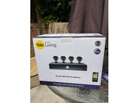 Yale Smart HD720 CCTV System - 4 Camera/8 Channel (RRP £350)