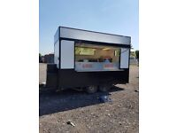 Catering trailer twin axel