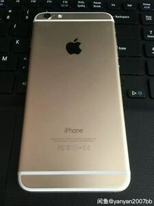 Unlocked iPhone 6. 64G in gold with perfect screen. Edmonton Edmonton Area image 4