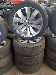 18 Inch WM II Caprice V Alloy Wheels And Tyres Suit VE VF Bayswater Bayswater Area Preview