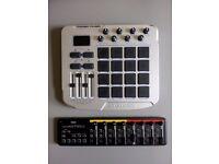 M-Audio Trigger Finger + Korg nanoKontrol 2
