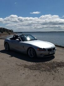 For sale, BMW Z4 convertible.