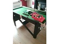 5ft. SNOOKER TABLE WITH ALL ACCESSORIES : PRESCOT COLLECT
