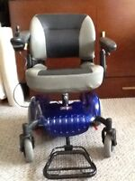 Merit p320 power wheelchair