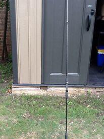 nash Kevlar whisker x 2 11ft vintage carp rods