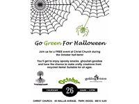 Go Green For Halloween