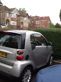 Smart Fortwo, 1.0litre Passion, Silver, Coupe 2 Door Petrol Auto Clutch, Southampton