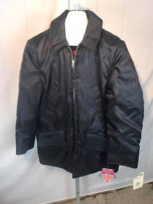 NOS Spiewak Golden Fleece Public Safety Navy Blue Jacket Mens Insulated (R31)