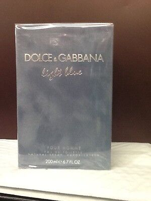 Dolce & Gabbana Light Blue For Men 6.6-oz. Eau De Toilette J