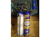 POLAR PROFESSIONAL PIPE FREEZER 8-22 MM KIT plus 2 SPARE CANISTERS
