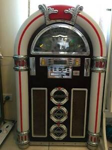 Large Retro Digital Jukebox Machine CD MP3 Radio Banyo Brisbane North East Preview
