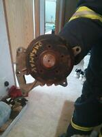 fan pulley bearing and bracket for sale