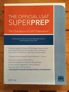 The Official LSAT Superprep: The Champion of LSAT Preparation Beaumaris Bayside Area Preview