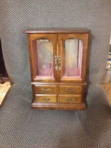 Wooden Jewelry Cabinets