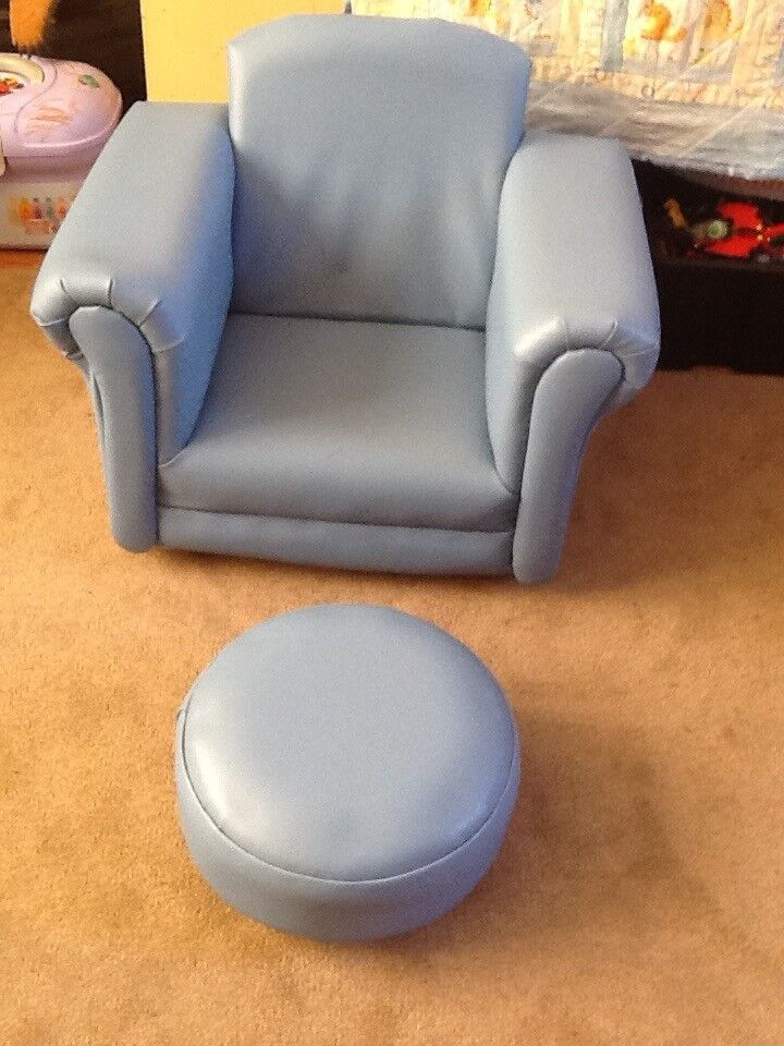 2 rocker chairs and footstools