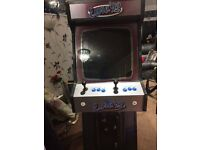 Retro games machine, with 60 classic games