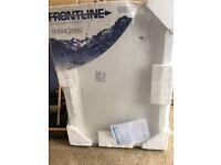 Frontline 1100 x 800 Rectangular Stone Resin Shower Tray
