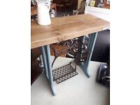 Rustic Singer Table