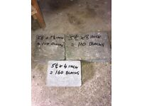 Paving block's approx 400 £45 Ono for the lot.