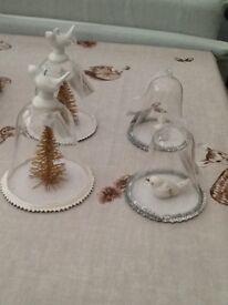 Glass bird christmas decorations new