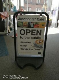 A2 Swinging Pavement Sign (used)