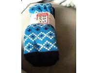 New ski tube socks